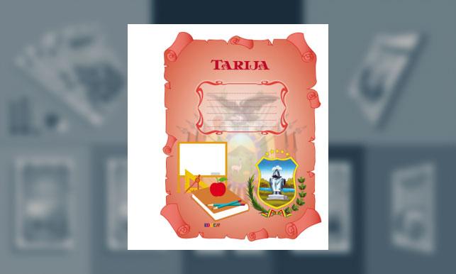 Carátula del Departamento de Tarija (tamaño carpeta)