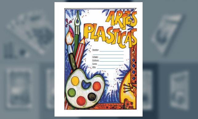 Carátula de Artes Plásticas (tamaño carta)