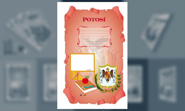 Carátula de Potosí (Tamaño Oficio)