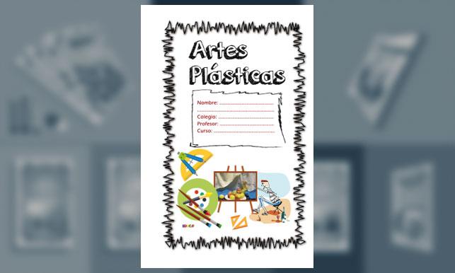 Carátula para Artes Plásticas (Tamaño Oficio o Legal) – 1