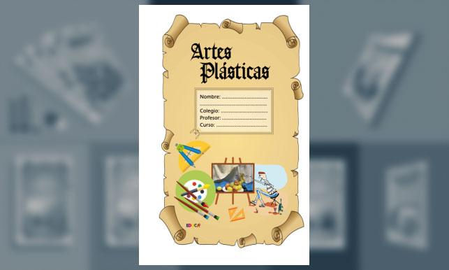 Artes Plásticas en Pergamino (Tamaño Oficio o legal)