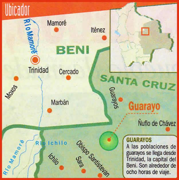 Los guarayos historia literatura educaci n de bolivia for Donde queda santa cruz