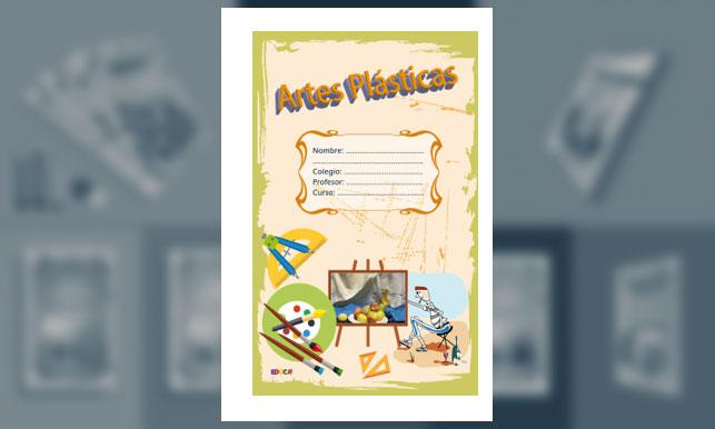 Carátula para Artes Plásticas (Tamaño Oficio)