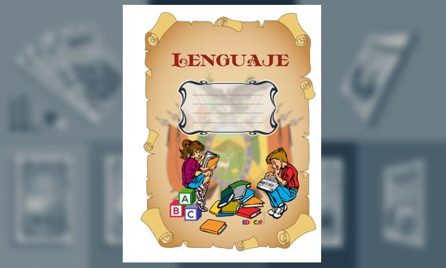 Carátula de Lenguaje (tamaño carta)