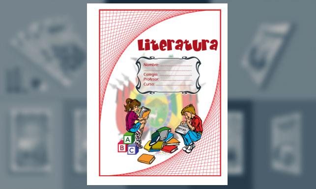 Carátula de Literatura (tamaño carta)