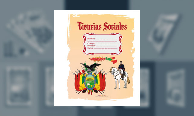Carátula de Ciencias Sociales (tamaño carpeta)
