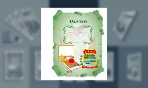 Carátula del Depto de Pando (tamaño carpeta)