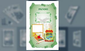 Carátula de Pando (Tamaño Oficio)