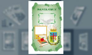 Carátula de Santa Cruz (Tamaño Oficio)