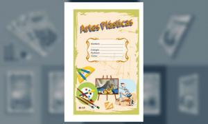 Carátula para Artes Plásticas (Tamaño Oficio o Legal)