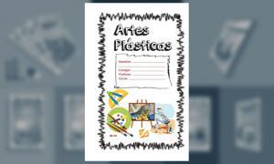Carátula para Artes Plásticas (Tamaño Oficio) (1)