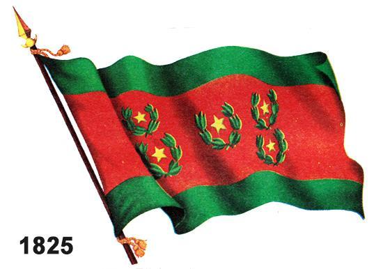 bandera boliviana 1825