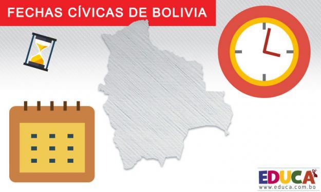 Fechas Cívicas de Bolivia