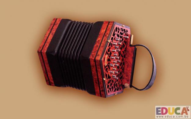 Concertina - Instrumentos folklóricos de Bolivia