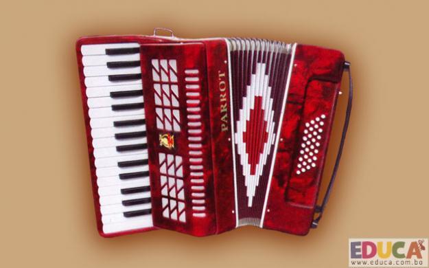 El Acordeón - Instrumentos folklóricos de Bolivia