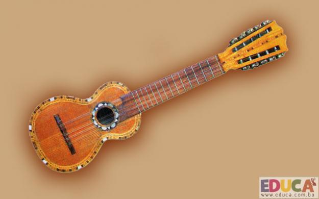 El Charango - Instrumentos Folkloricos Bolivianos