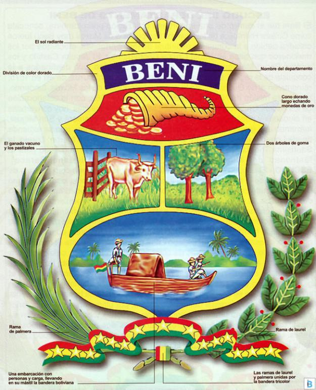 Escudo del Departamento de Beni