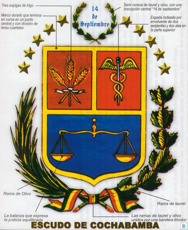 escudo cochabamba