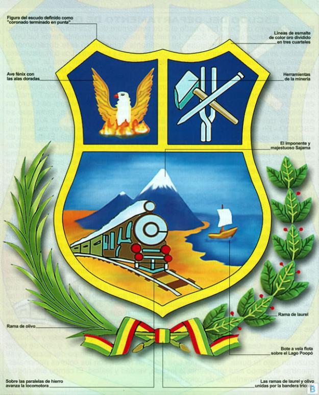 Escudo departamento de Oruro