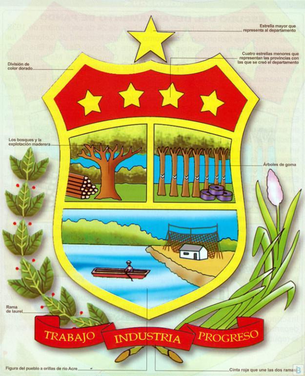 Escudo del Departamento de Pando