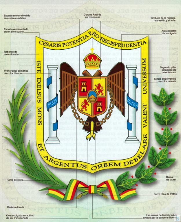 Escudo del departamento de potosí