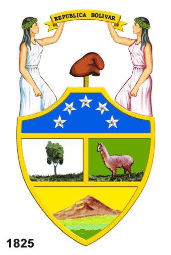 escudo bolivia 1825