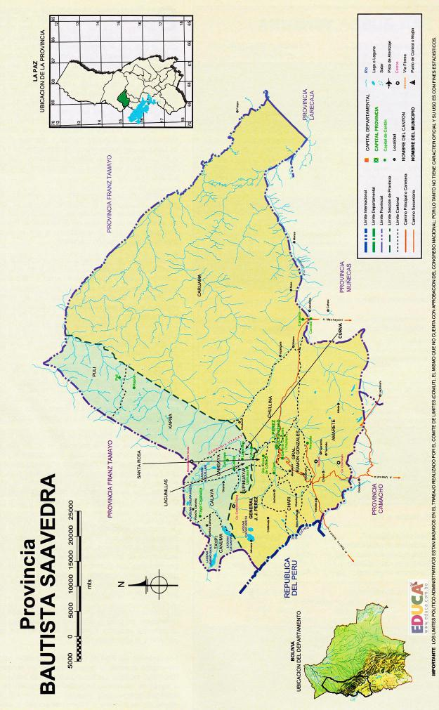 Provincia Bautista Saavedra - La Paz Bolivia