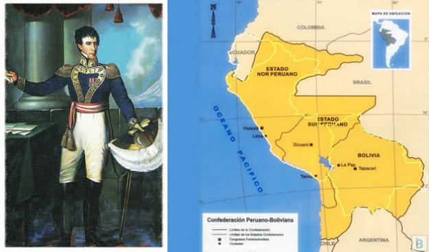 La República Andrés de Santa Cruz