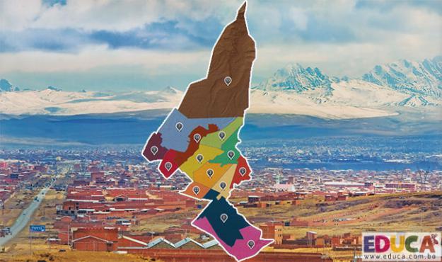 Geografía del Municipio de El Alto - La Paz, Bolivia.