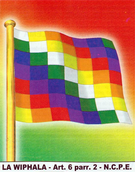 wiphala emblema indígena