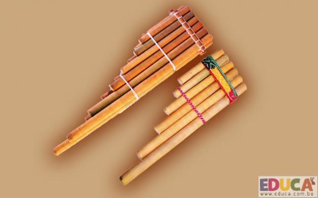 Siku o Zampoña - instrumentos folklóricos de Bolivia