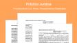 Práctica Jurídica - Memoriales - Formatos