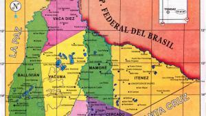 Mapa Político del Departamento del Beni - Mapas de Bolivia