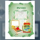 Carátula del Depto de Pando (tamaño carta)