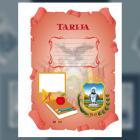 Carátula del Departamento de Tarija (tamaño carta)