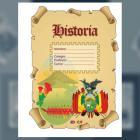 Carátula para la Materia Historia (tamaño carta)